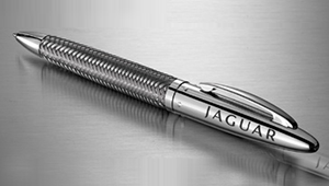 Jaguar pen: €85,-